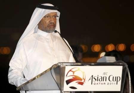 Mohamed_bin_Hammam_with_Asain_Cup_logo