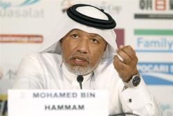 Mohamed Bin_Hammam_behind_name_badge