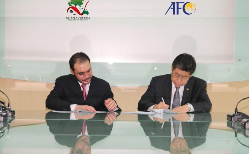 AFC AFDP_Signing_Prince_Ali_Bin_Al_Hussein_and_Zhang_Jilong_27-03-12