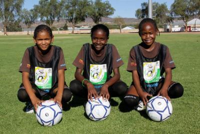 Namibia girls_football_team