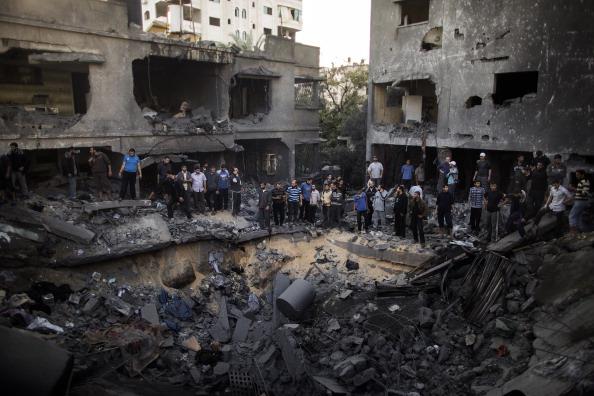 gaza damage