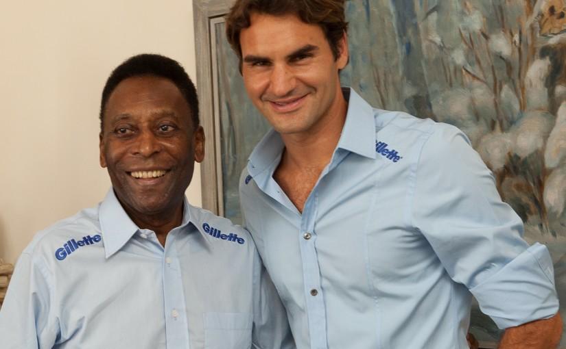 Pele and_Federer
