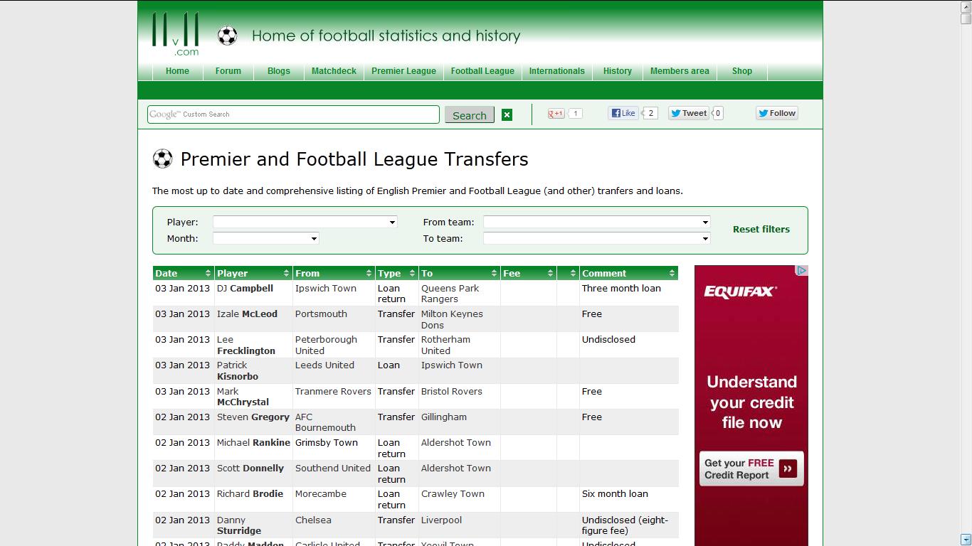 footballtransfers