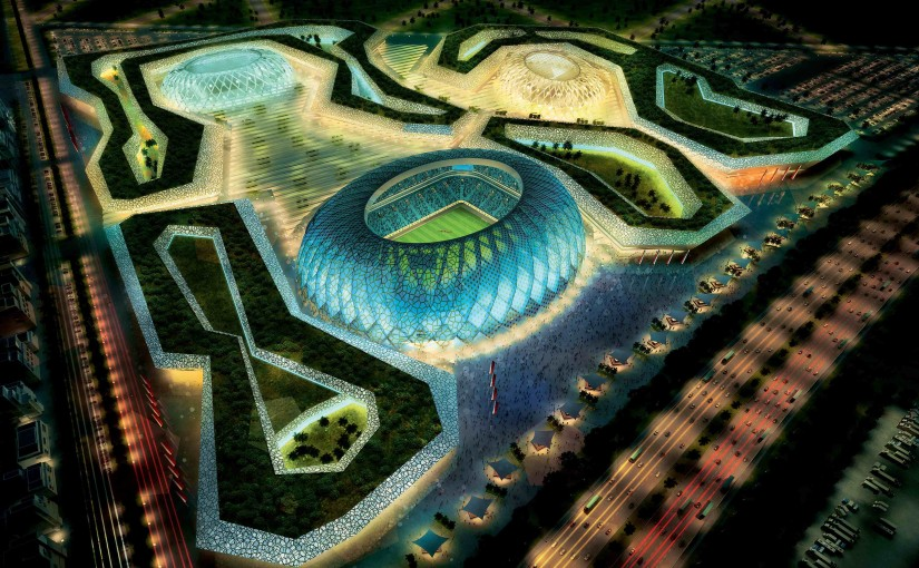 Al Wakrah stadia and precinct