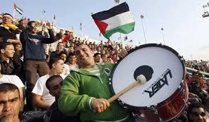 Palestinian fans