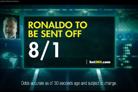 betting ads on tv