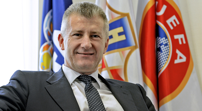 Davor Suker President of the Croatian Football Federation