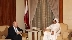 Sepp Blatter and Qatar Emir