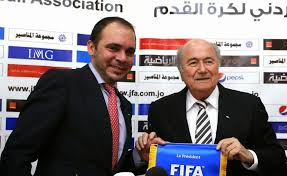 Prince Ali and Sepp Blatter