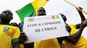 Ebola protest