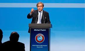 Michel Platini Vienna