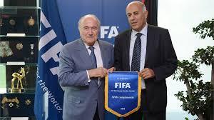 Blatter and Rajoub