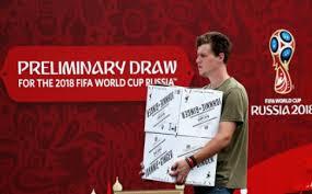 Preliminary draw