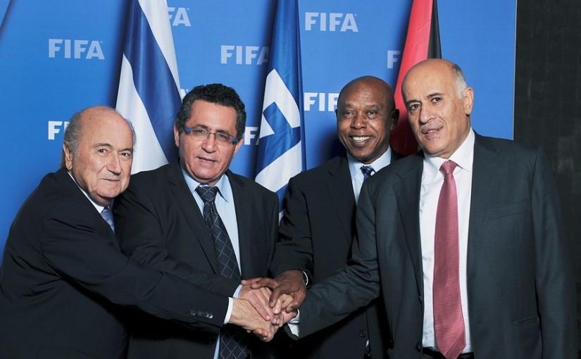 Blatter, Eini, Sexwale and Rajoub
