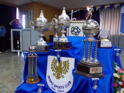 Dempo Sports Club trophies