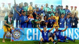 India win SAFF Cup