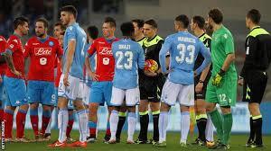 Lazio vs Napoli racism