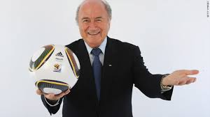 Sepp Blatter and ball