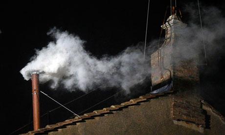 Vatican white smoke