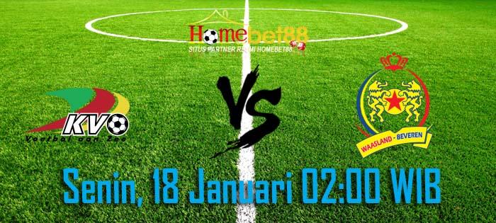KV Oostende vs Waasland-Beveren