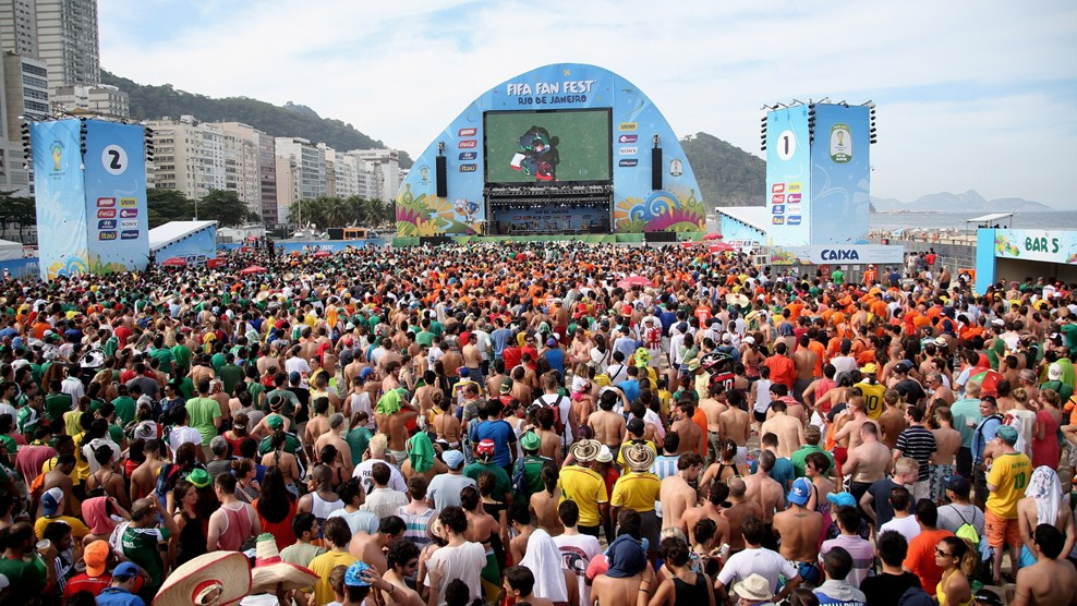 Fan Fest venues