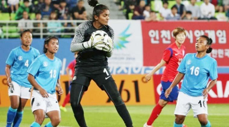 Indian women's football.