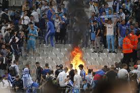 Fire at Stade de France