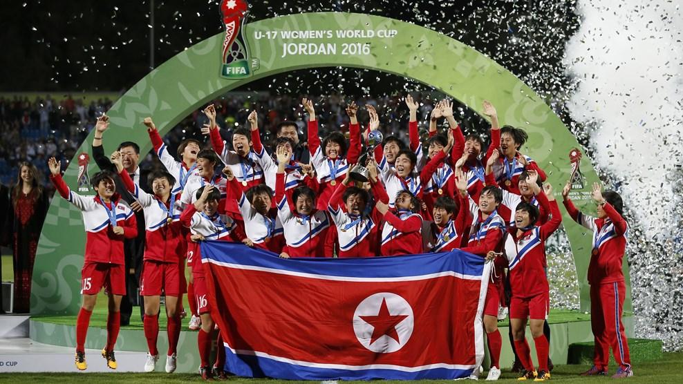 North-Korea U17 women