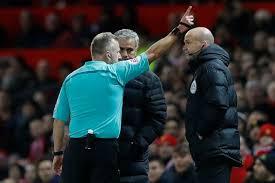 Mourinho sent off
