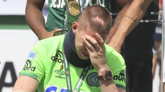 Chapecoense tears