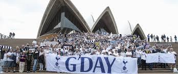 Spurs in Australia