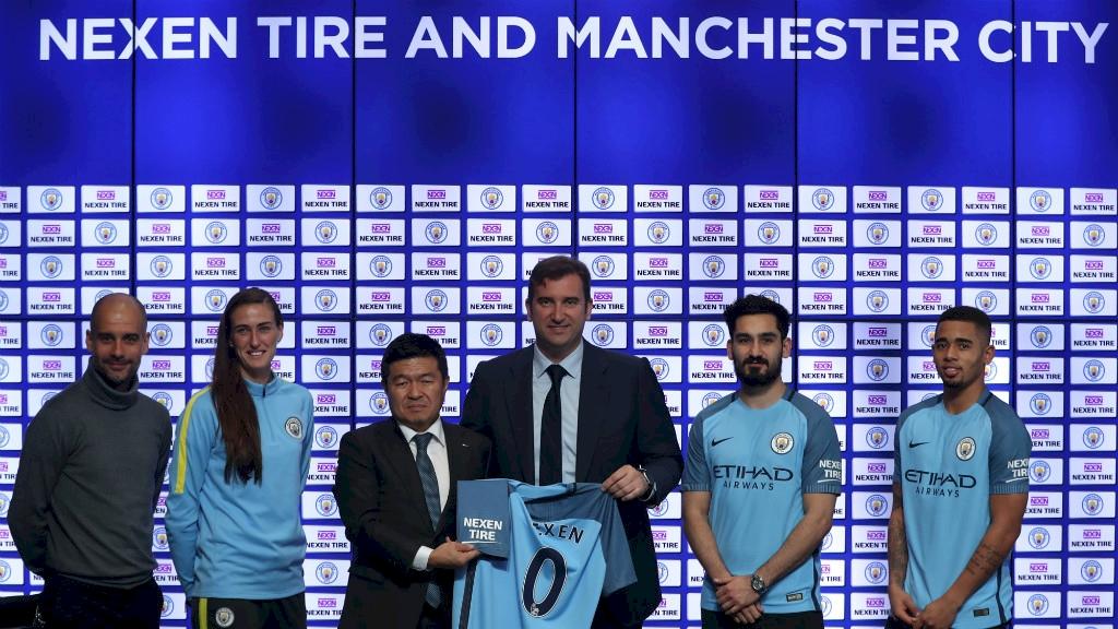 Man City and Nexen Tire Official Sleeve Partner announcement_final