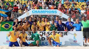 Brazil win Beach Soccer World Cup