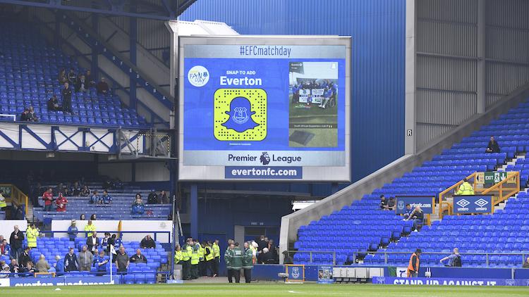 Everton big screen