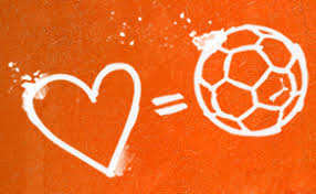Orange and football