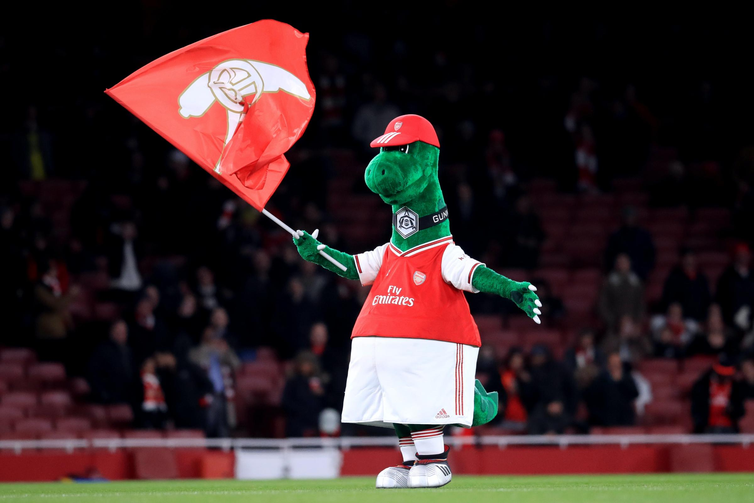 Gunnersaurus sacked! Arsenal's famous mascot victim of cost cutting