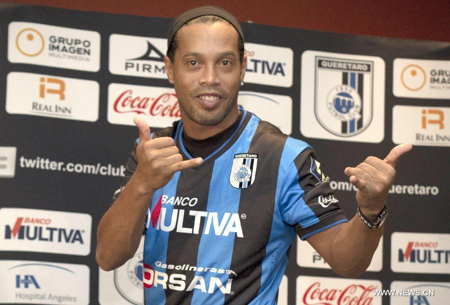 Ronaldinho at Quereta